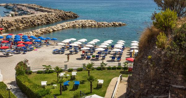 Spiaggia privata nel Cilento