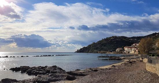 Spiagge di Pioppi e Acciaroli nel Cilento